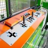 Brennholzautomat, SpaltFix K-550 Joystick Bedienung