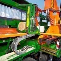 Profi-Brennholzautomat für Meterholzscheite