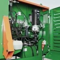Posch Brennholzautomat Hydraulikanlage hydraulischer Sägespalter