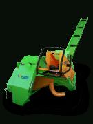 Posch halbautomatische Brennholzsäge mit Förderband