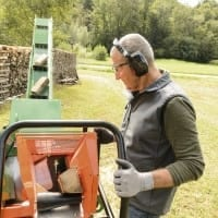 Brennholzsäge mit Förderband, EasyCut