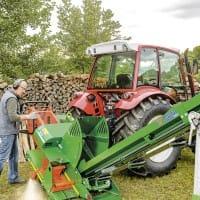 Brennholzsäge EasyCut mit Förderband