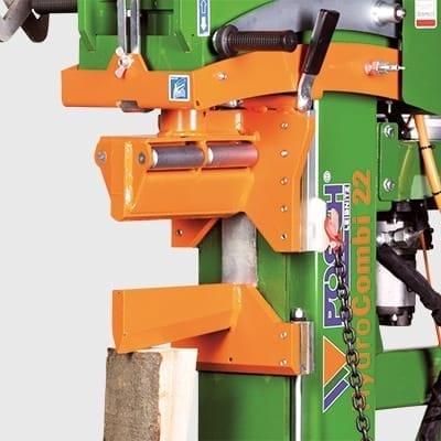 Holzspalter Meterspalter mit patentiertem Holzhaltesystem