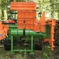 Holzspalter Liegendpalter in Transportstellung