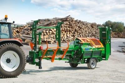 Sägespalter Brennholzautomat mobil