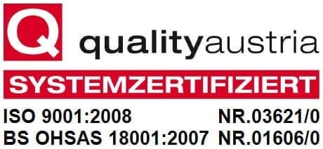 Qualitätsmanagementsystem von POSCH