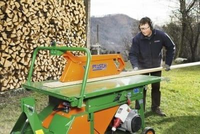 Posch, Tischsäge auch für Brennholzschnitt
