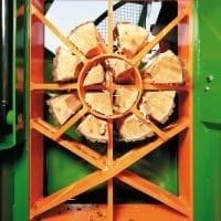 Schneidspalter Sägespalter, MULTI-Spaltsystem, Brennholzautomat, Ringspaltmesser