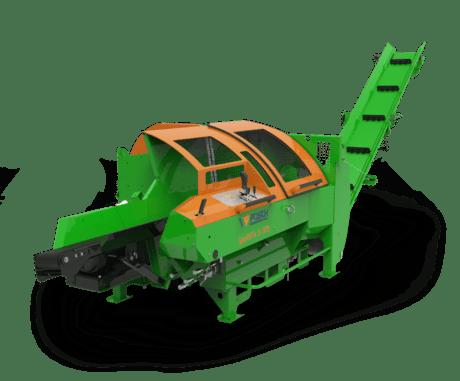 Sägespalter mit Sägeblatt, Spaltautomat für Brennholz, Antrieb über Zapfwelle oder elektrisch, Posch SpaltFix S-375