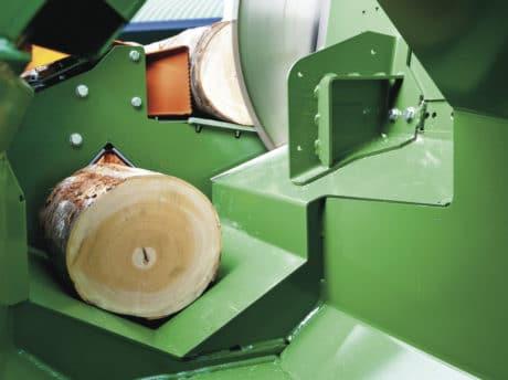 Sägespalter SpaltFix S-375 ist auch als Hochleistungssäge ohne Spaltmesser einsetzbar