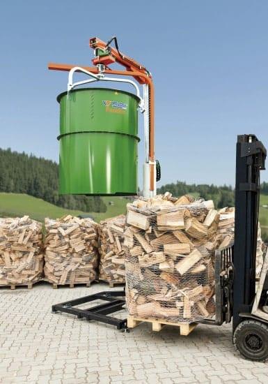Posch Scheitholzverpackung Rundballennetz