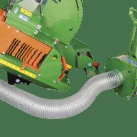 Späneabsauganschluss für Brennholzsäge