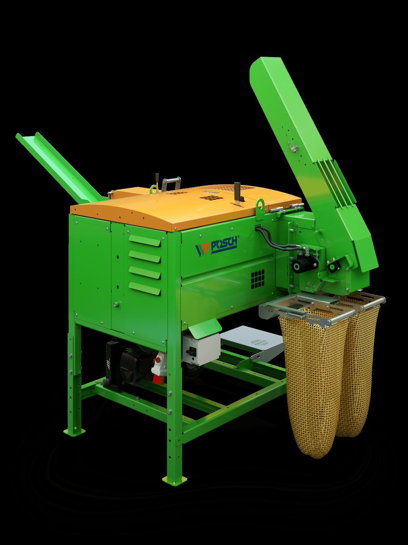 Holzspalter für Anmachholz, Zündholzautomat, der Spaltautomat Autosplit für Anzündholz, Anmachholz oder Brennholz