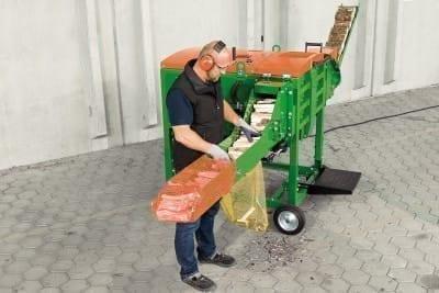Spaltautomat für Anzündholz und Brennholz