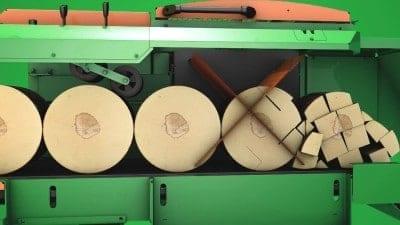 Spaltautomat für Brennholz und Kaminholz bis Holzdurchmesser 65 cm