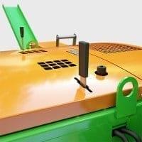 Spaltautomat mit einstellbarer Scheitkantenlänge
