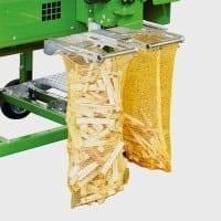 Spaltautomat für Brennholz mit Verpackungssystem
