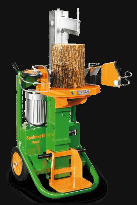Holzspalter Kurzholzspalter Stehend Spaltaxt Spaltkraft 8 Tonnen, E-Motor, komfortabel Holzspalten mit Holzhaltespitze