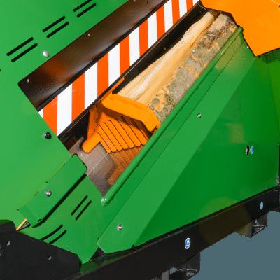 Sägeautomat mit EasyGo, Holzvorschub