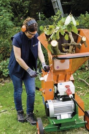 Posch Gartenhäcksler Kompost