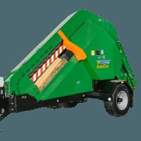 automatische Brennholzsäge mit Längsfahrwerk