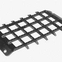 Posch push-on floor grid