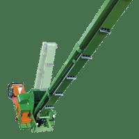 Posch teleskopierbares Förderband für Holz