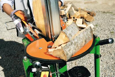Holzspalter Kurzholzspalter, Holzauflagetisch
