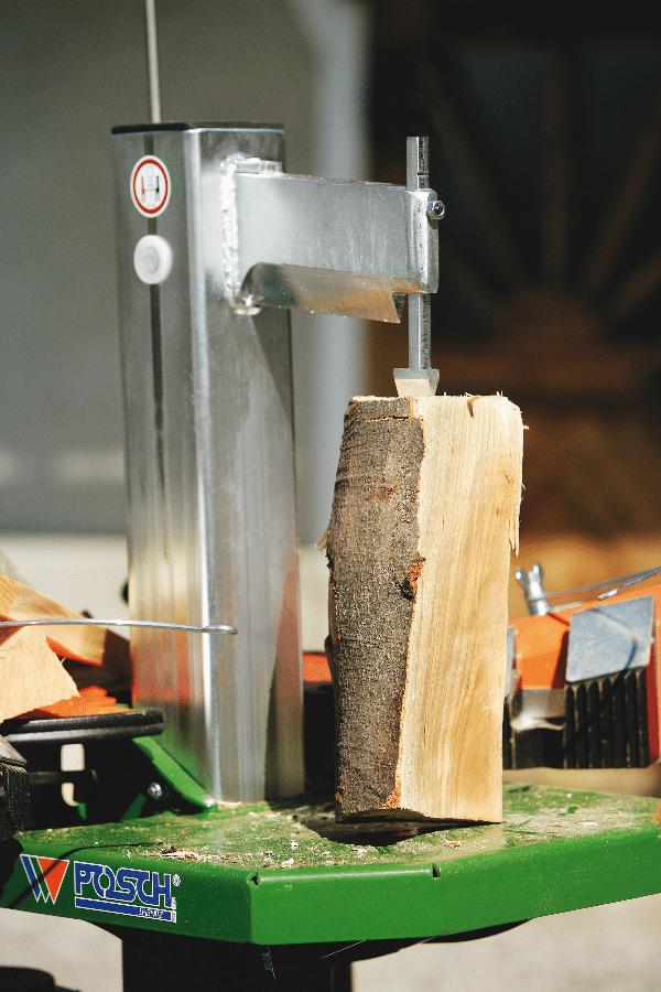 Fendeur de bois, fendeur de bois court, pointe de retenue