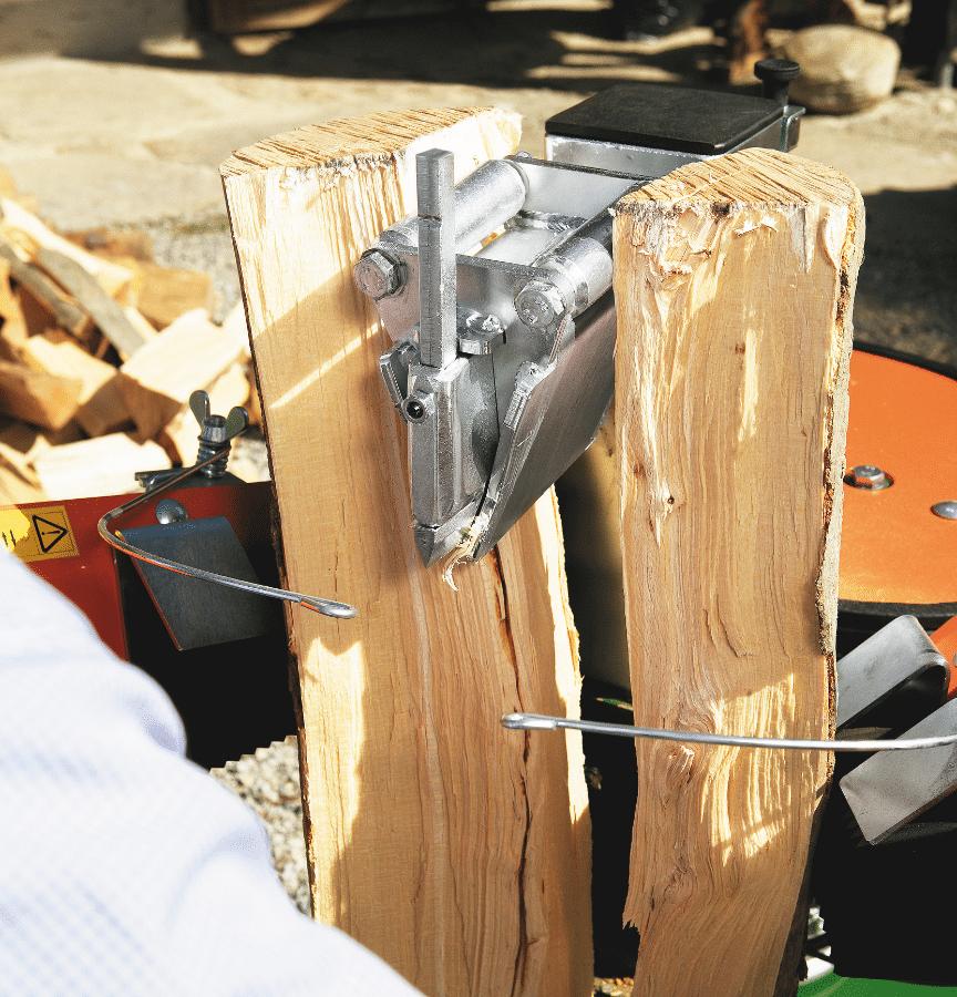 Fendeur de bois, fendeur de bois court. Couteau à rouleau pour fendeurs de bois court