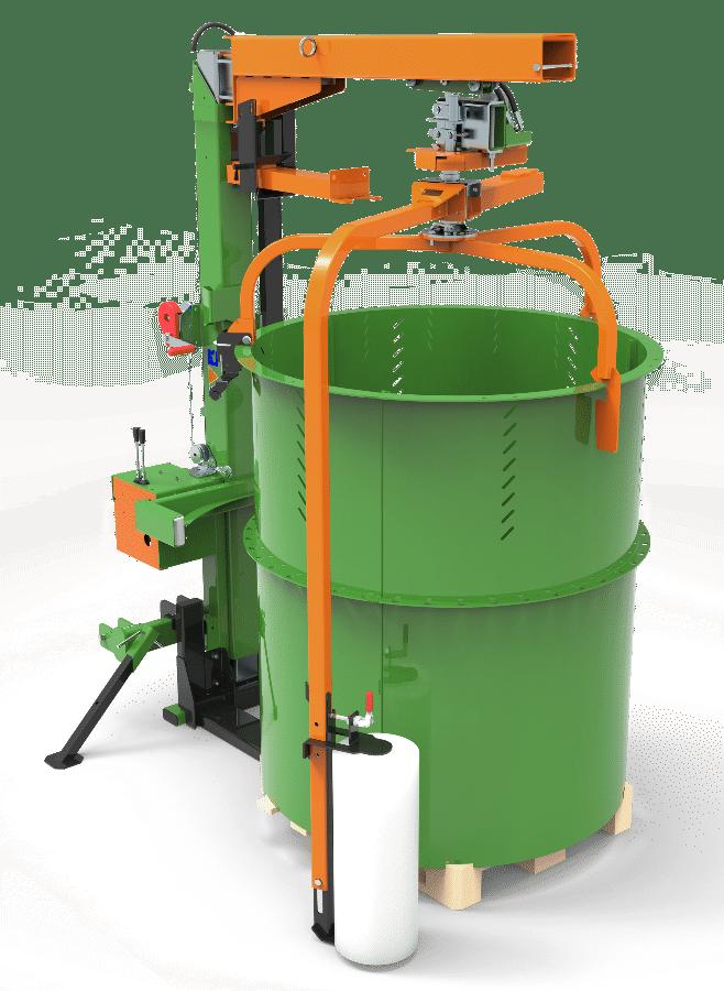 Posch Machine d'emballage pour le bois de chauffage. Version mobile.