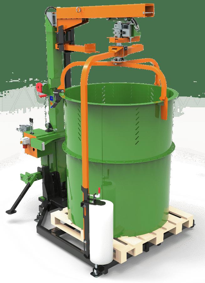 Posch Machine d'emballage pour le bois de chauffage. Appareil combiné : Version stationnaire et mobile