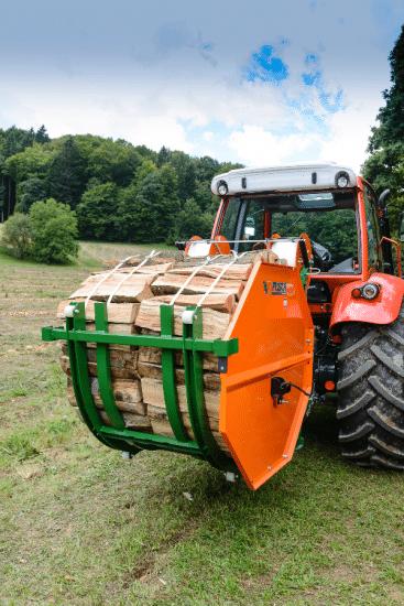 Bündelvorrichtung für Meterscheite und Kurzholzscheite