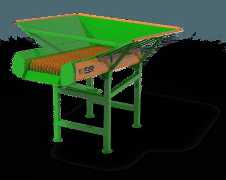 Sieb für Brennholz, Scheitholzreiniger für große Mengen