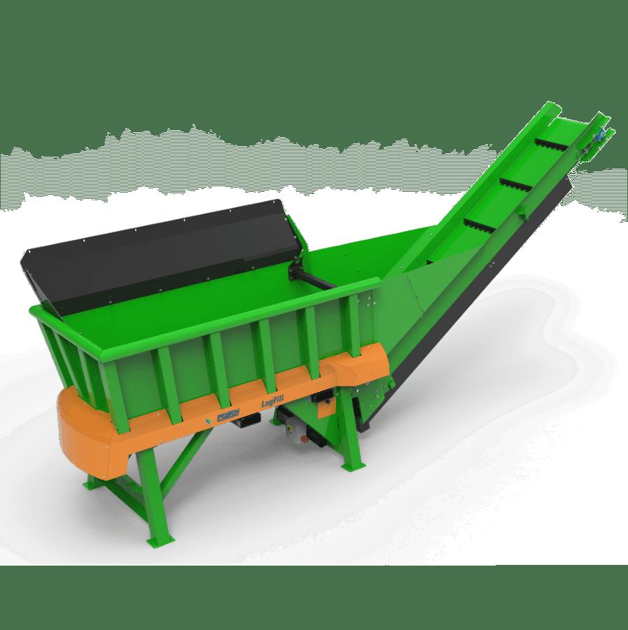 Kaminholz-Produktion, Brennholz Puffer und Reinigung