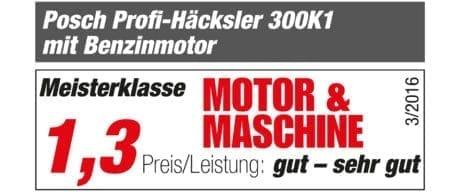 Motor & Maschine Praxistest