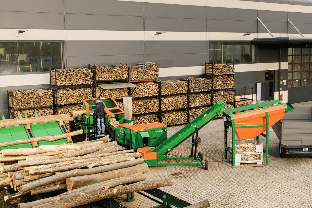 Brennholzautomat SpaltFix S 20 Vario   POSCH Leibnitz