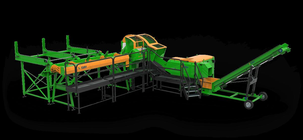 Brennholzautomat, Sägespaltautomat mit einstellbarer Scheitkantenlänge, SpaltFix S-410, Anzündholz, Anmachholz, Posch