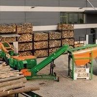 Brennholzproduktion, Brennholz machen, Brennholz spalten