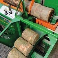 leistungsstarker Sägespalter, Brennholzproduktion