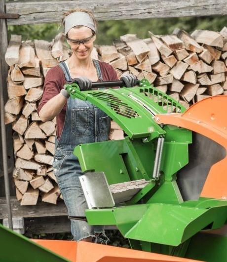 Kreissäge, Brennholzsäge mit Sicherheitspaket, Posch