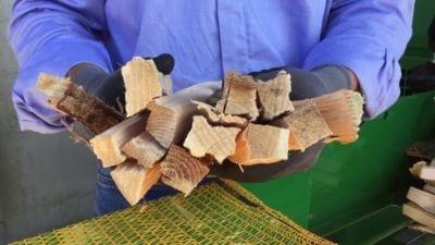 Aanmaakhout brandhout verpakking Posch