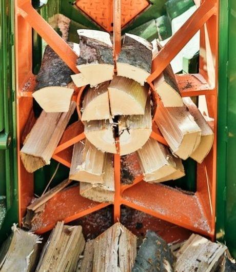 Brennholzautomat, Spaltmesser, Posch