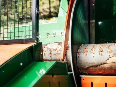 Brennholzautomat, Längsanschlag, Posch