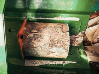 Brennholzautomat, Spaltfunktion, Posch