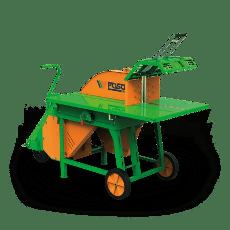 Brennholzsäge mit Rolltisch, Antrieb über Traktor-Zapfwelle