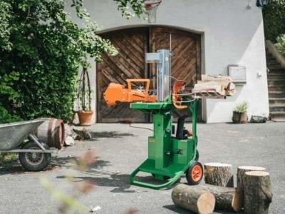 Holzspalter, elektrischer Antrieb, Posch