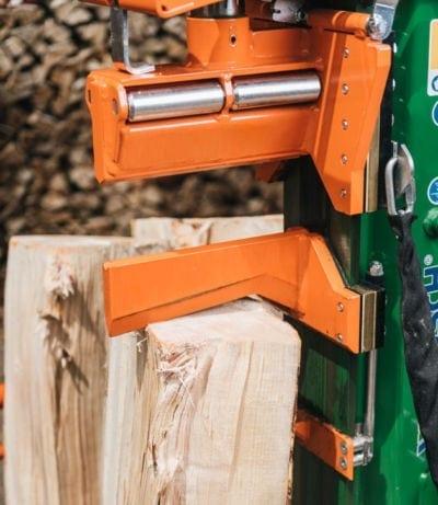 Holzspalter mit Spezial-Spaltmesser mit Rollen, Posch