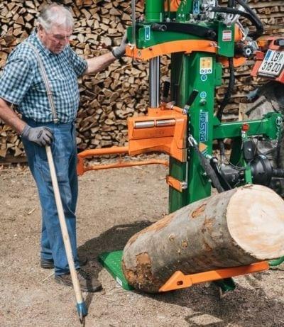 Holzspalter Stammheber, Stammhebevorrichtung, POSCH