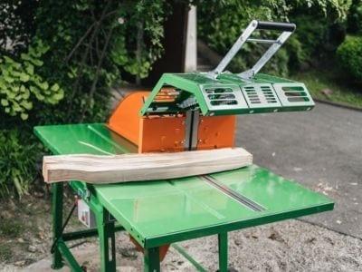 Auflagetisch, Kreissäge für Brennholz